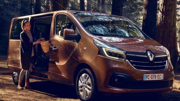 Renault trafic van 1