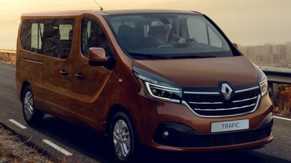 Renault trafic van 2