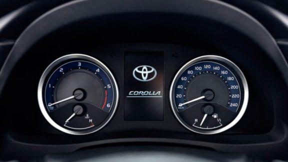 Toyota corolla sedan 1